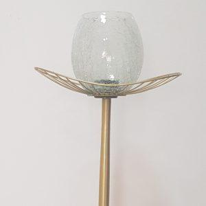Gold Candle Holder Large -C/Holder