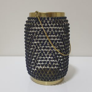 Lemans Beads Hurricane Vase